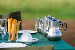 Desayuno del grupo Imágenes de archivo libres de regalías