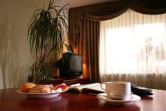 Desayuno del hotel Fotografía de archivo libre de regalías