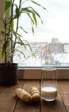 Desayuno del invierno Imagen de archivo libre de regalías