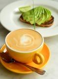 Desayuno del negocio imagen de archivo libre de regalías