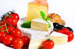 Desayuno del queso Fotos de archivo