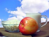 Desayuno del verano Foto de archivo