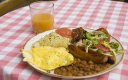 Desayuno delicioso foto de archivo
