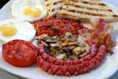Desayuno delicioso Foto de archivo libre de regalías
