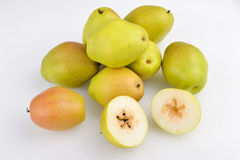 Desayuno delicioso fresco de la pera de la pera de Xinjiang de la pera de las peras de China de la pera de la vida del ï del ¼ Œ  Imagenes de archivo