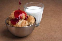 Desayuno dulce ligero Fotos de archivo