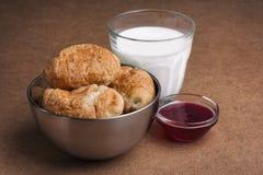 Desayuno dulce ligero Imágenes de archivo libres de regalías