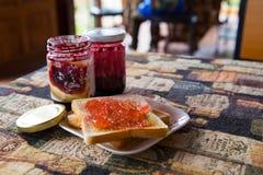 Desayuno en día de fiesta Foto de archivo