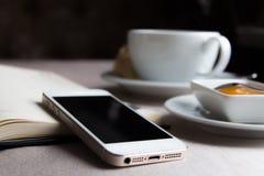 Desayuno en restaurante Fotografía de archivo libre de regalías