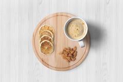 Desayuno europeo Fotografía de archivo libre de regalías