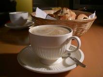 Desayuno francés foto de archivo