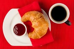 Desayuno francés imagenes de archivo
