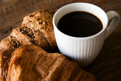 Desayuno francés Imagen de archivo libre de regalías