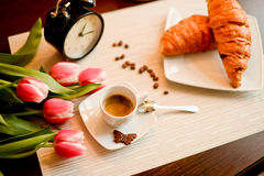 Desayuno ideal Fotografía de archivo libre de regalías