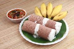 Desayuno indio Fotografía de archivo