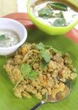 Desayuno indio Fotos de archivo