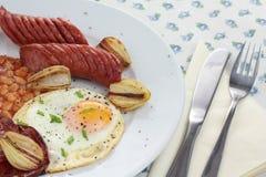 Desayuno inglés Imágenes de archivo libres de regalías