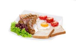 Desayuno inglés Imagen de archivo libre de regalías