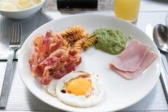 Desayuno inglés Fotos de archivo libres de regalías