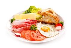Desayuno inglés fotos de archivo