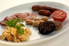 Desayuno irlandés tradicional Imagen de archivo