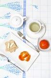 Desayuno ligero Imagenes de archivo