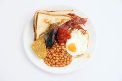 Desayuno lleno inglés foto de archivo libre de regalías
