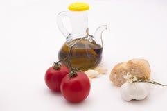 Desayuno mediterráneo sano Fotografía de archivo