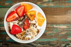 Desayuno Muesli Fotos de archivo
