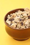 Desayuno - musli del chocolate imágenes de archivo libres de regalías