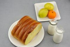 Desayuno occidental Foto de archivo libre de regalías
