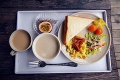Desayuno occidental Imagen de archivo