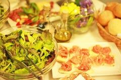 Desayuno para los vegetarianos Imagenes de archivo