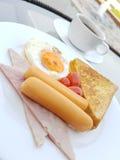 Desayuno por la mañana Fotografía de archivo