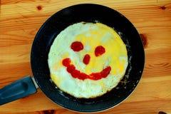 Desayuno positivo Imagen de archivo libre de regalías