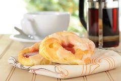 Desayuno rápido Fotografía de archivo libre de regalías