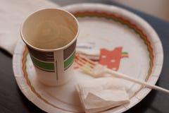 Desayuno rápido fácil Imágenes de archivo libres de regalías