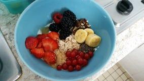 Desayuno sano Fotografía de archivo libre de regalías