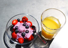 Desayuno sano Imagen de archivo libre de regalías