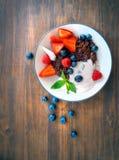 Desayuno sano sabroso imágenes de archivo libres de regalías