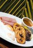 Desayuno típico de Nicaragua foto de archivo libre de regalías
