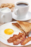 Desayuno tradicional foto de archivo