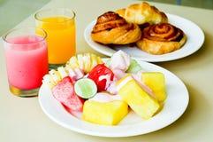 Desayuno tropical Imagenes de archivo