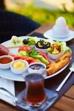 Desayuno turco Imagen de archivo libre de regalías