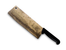 Desbastando a faca suja Foto de Stock