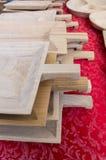 Desbastando os ofícios de madeira Imagem de Stock Royalty Free