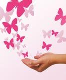 Desbloquear del Butterflys fotografía de archivo