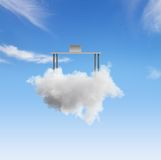 Desc on cloud Royalty Free Stock Image