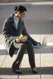 Descanso del almuerzo al aire libre Fotografía de archivo