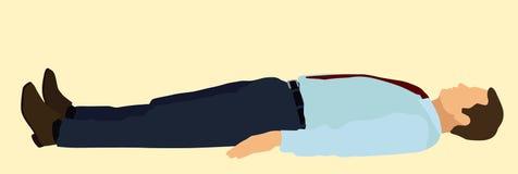 Descanso do negócio ilustração do vetor
